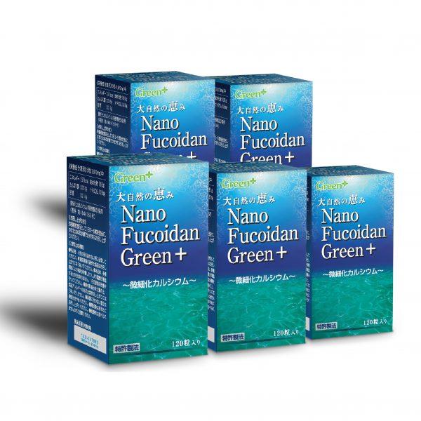 Nano Fucoidan Green+