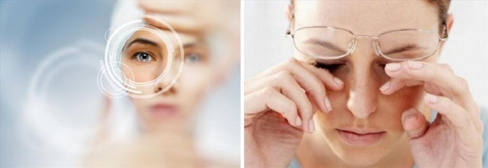 Triệu chứng thoái hóa điểm vàng giai đoạn đầu thường diễn ra âm thầm, không điển hình.